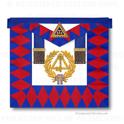 Arche Royale, GLNF Arc Royal Tablier Officier National - Decors de l'Arche Royale, Arc Royal