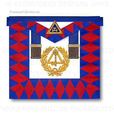 Arche Royale, Arc Royal Tablier Officier National - Decors de l'Arche Royale, Arc Royal