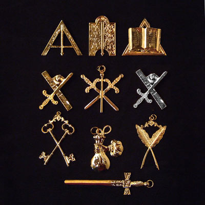 'Bijoux d'Officiers Rite Français Traditionnel - Décors du Rite Français Traditionnel